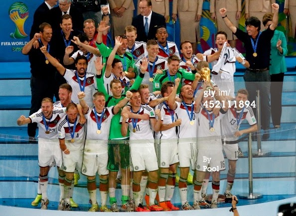 Germany is the New Champion of World Football