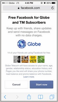 Free Facebook Globe and TM