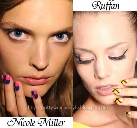 Маникюр с Nail Art пролет-лято 2012
