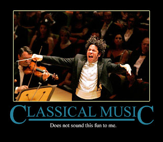 Dudamel having too much fun