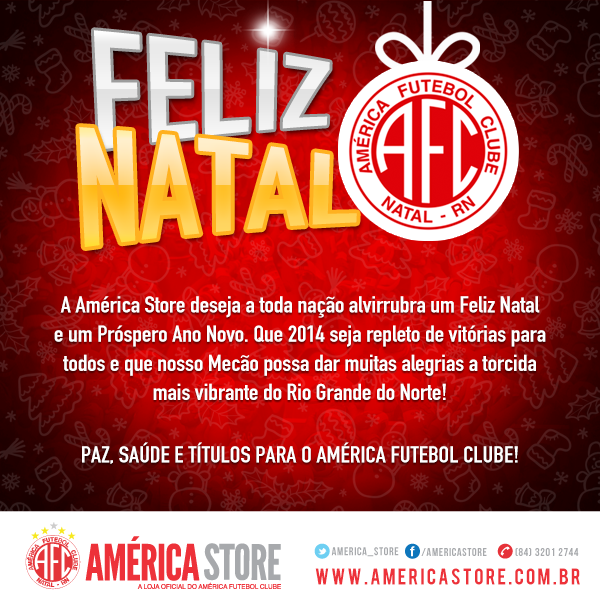 Feliz Natal da América Store b8590c2aee880