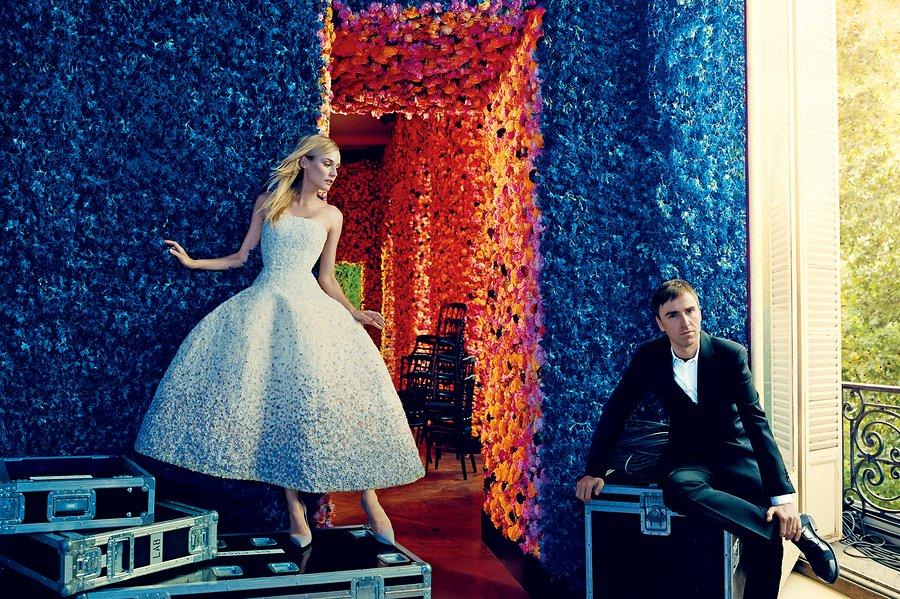 Diane-Kruger-Dior, Raf-Simons-Dior, raf-simons-adidas, raf-simons-sneakers, raf-simons-adieu-to-dior, du-dessin-aux-podiums, dudessinauxpodiums, Norman-Jean-Roy, dior-vogue