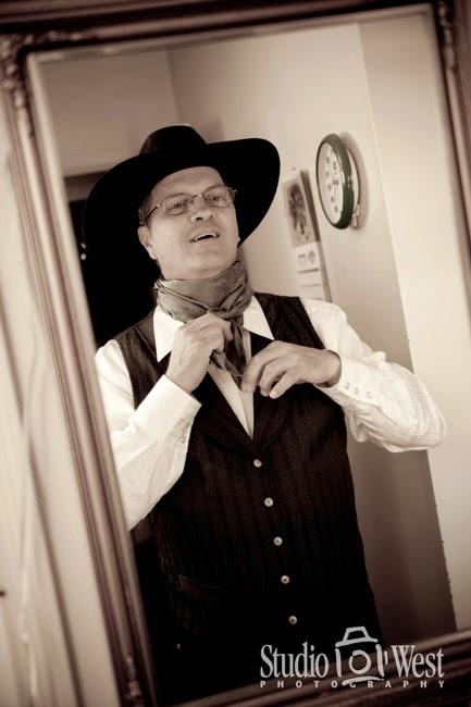 Cowboy Weddding Photographer - Chapel Hill Shandon, CA Wedding Photography - Studio 101 West Photography