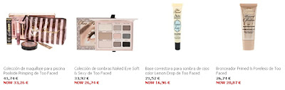 gran oferta too faced