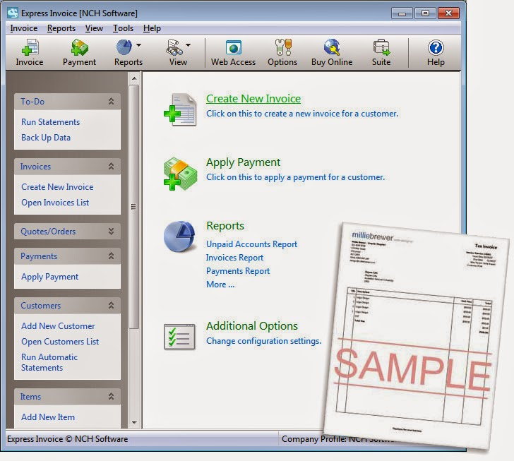Cracked software for everyone download nch express for Billing and invoice software for mac