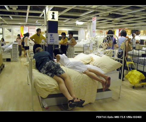 OMG : Rakyat China Apabila Berada Di Dalam Kedai IKEA (12 Gambar)