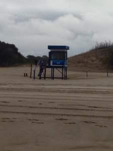 el clásico chiringo de playa de carilo