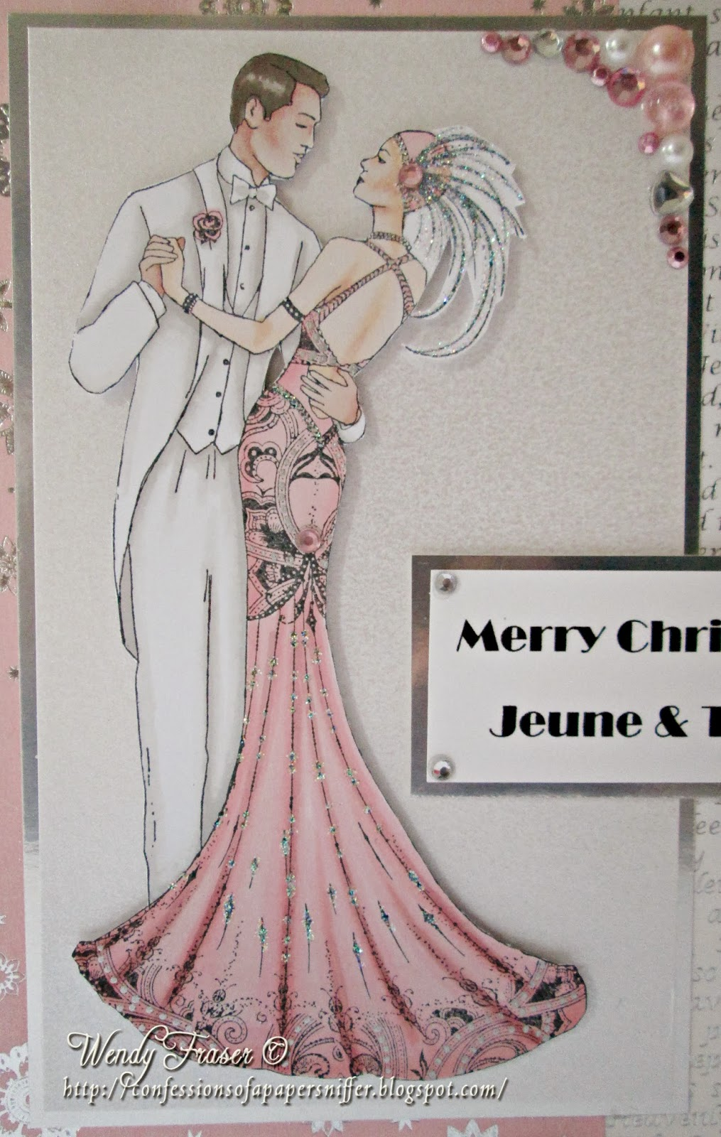 Confessions of a Papersniffer: More Art Deco Christmas Cards