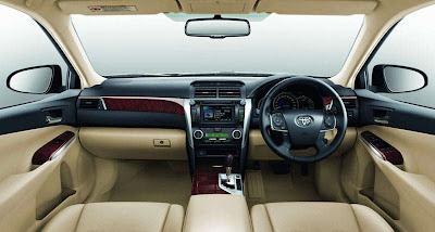 2013 Toyota Camry Interior Toyota Camry 2013 Indonesia   Harga, Spesifikasi Dan Review
