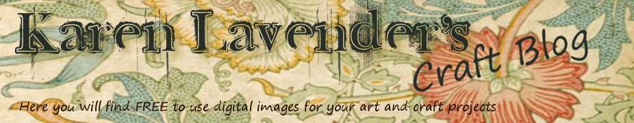 Karen Lavender's art and craft blog