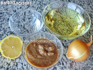 Salata de icre de peste ingrediente reteta