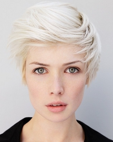 Flirty Short Haircut Idea 2014