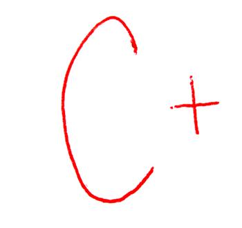 c+ grade  So. My mother in