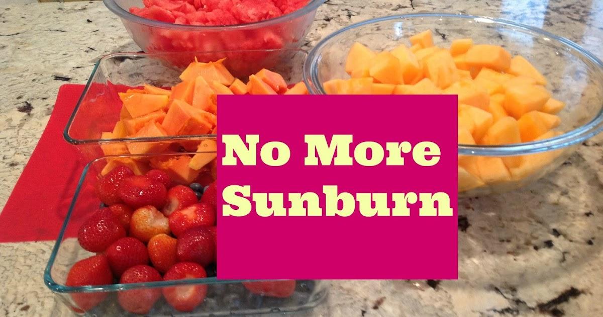 Gluten free a z foods that protect against sunburn - Foods protect skin sunburn ...