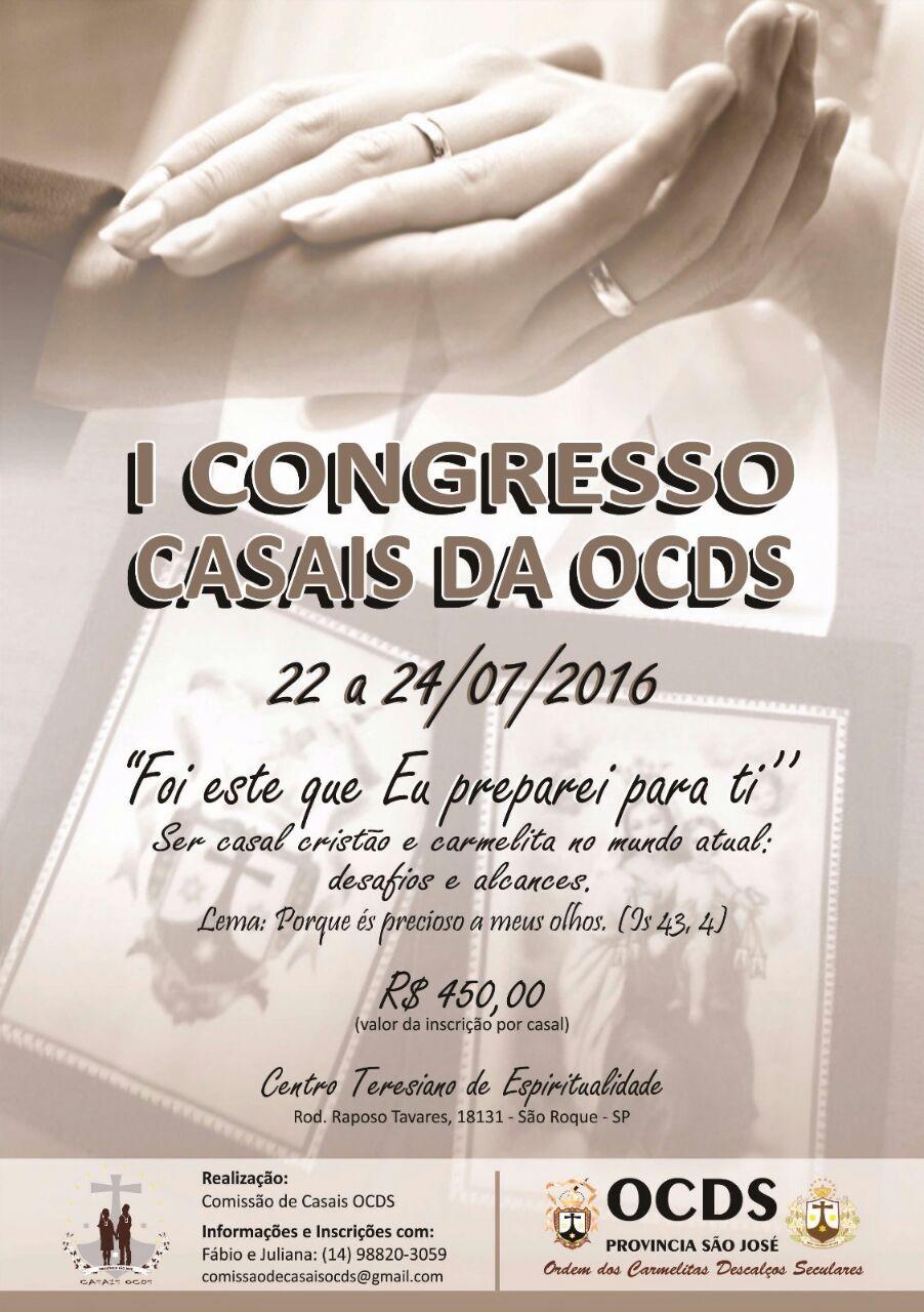 I CONGRESSO DE CASAIS DA OCDS