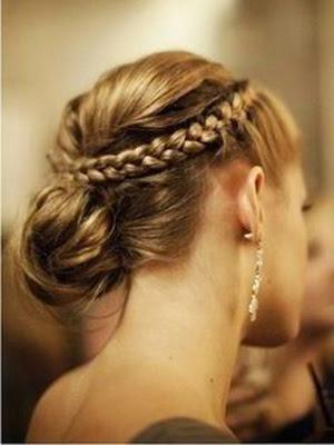peinados recogidos trenzas 2014