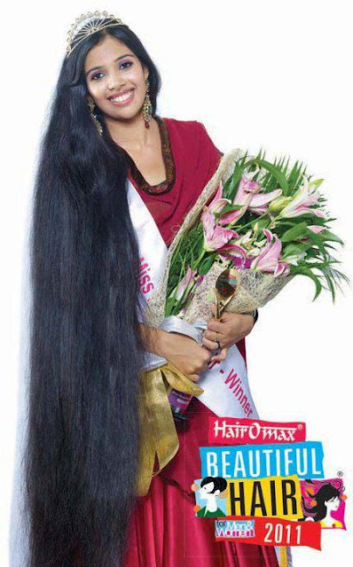 Kerala long hair queen