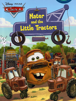 Mater Little Tractors children's book Mater's Junkyard Jamboree