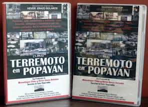 """""""Terremoto en Popayán"""" en DVD. Edición Limitada"""