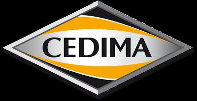 Новый логотип немецкой компании CEDIMA, производителя алмазного оборудования для резки бетона, инструмента и алмазных дисков