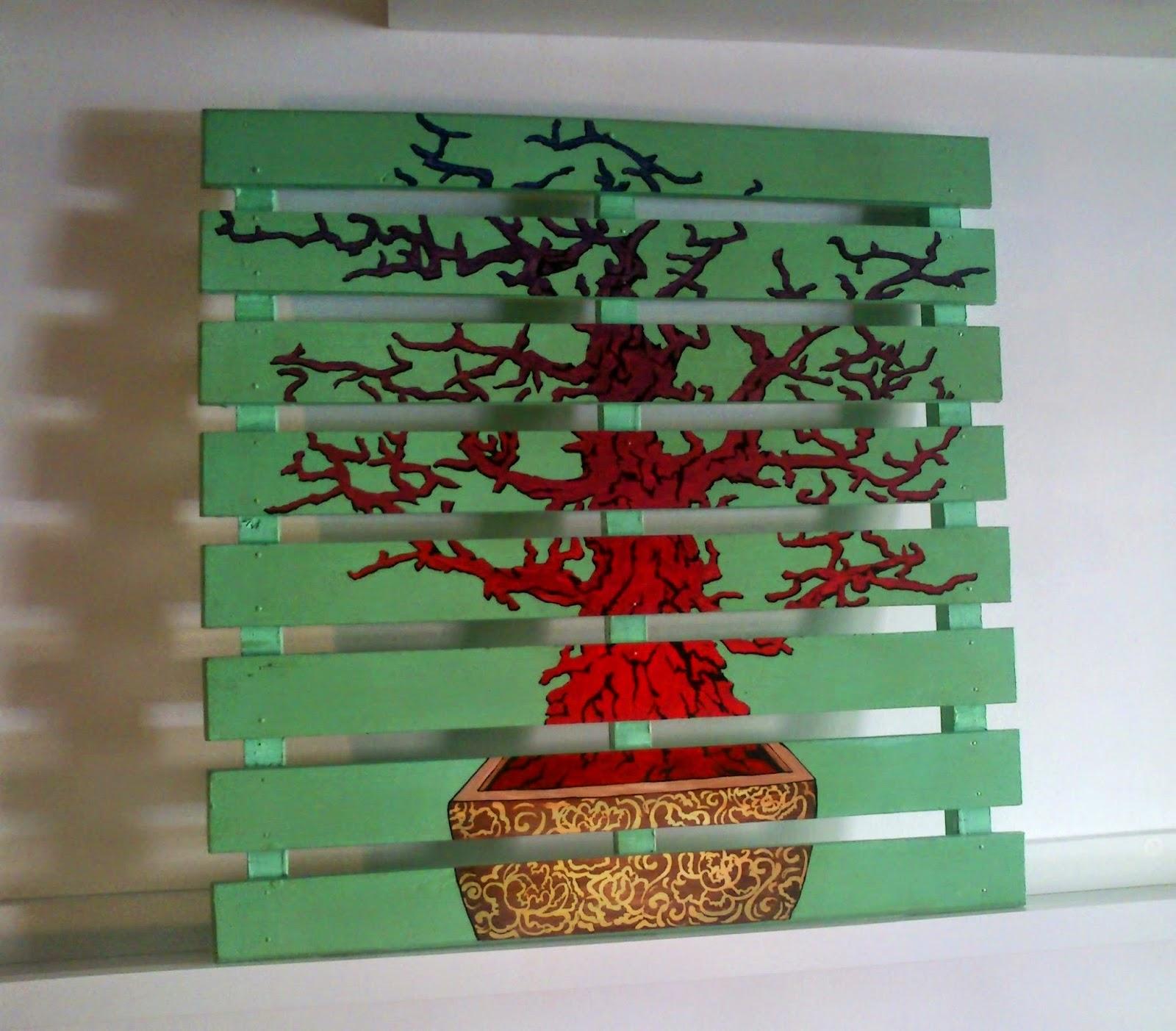 Chipi artesan a customizaci n de muebles de madera y palets for Muebles pintados a mano fotos