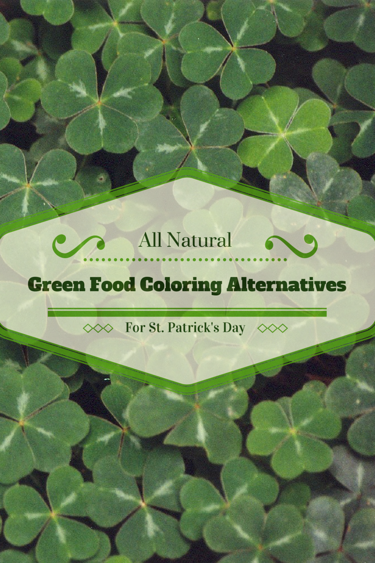 All Natural Green Food Coloring Dye Alternatives