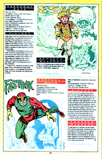 Esak y Fastback (ficha dc comics)