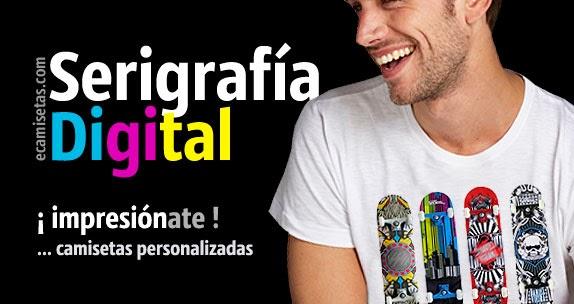Serigrafía digital camisetas