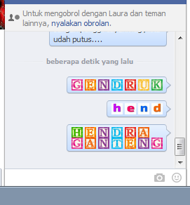 Teks Generator Emoticon Facebook