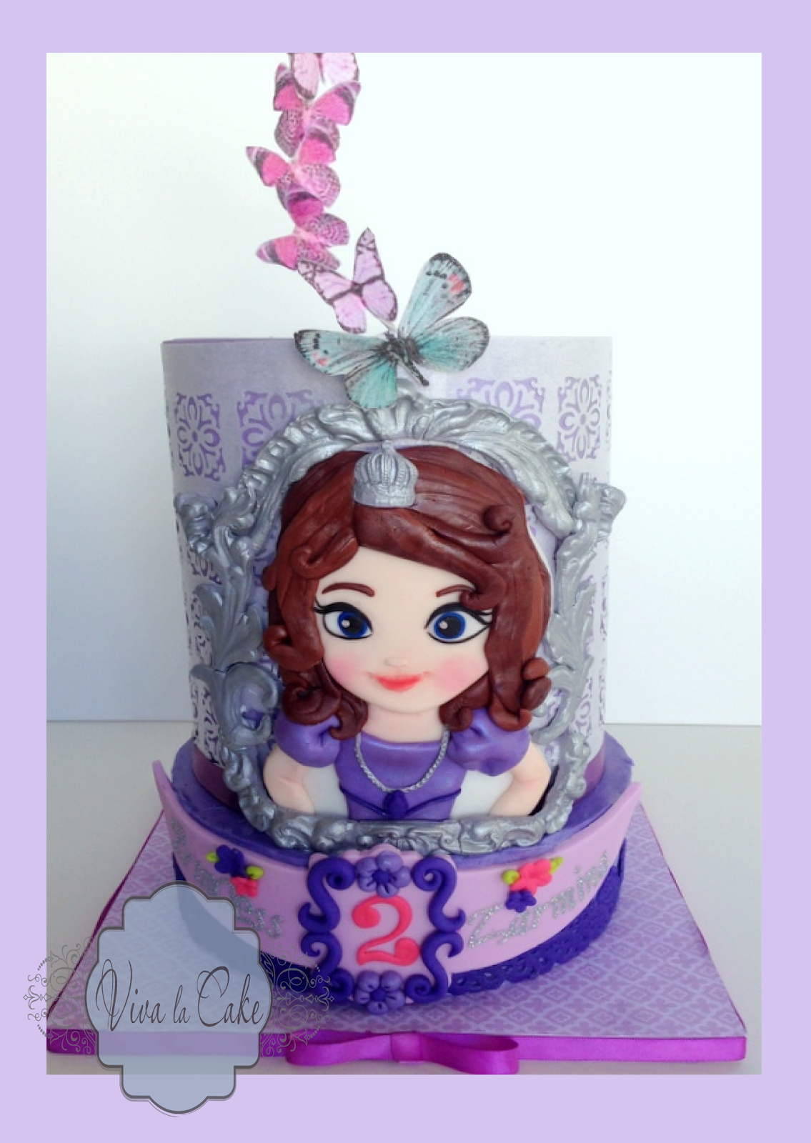 Cake Images Of Sofia The First : Viva La Cake I Blog: September 2013