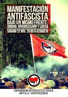 Manifestación Antifascista Segovia