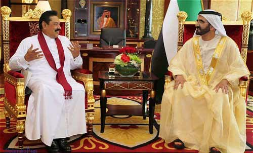 UAE Assures Support to Sri Lanka
