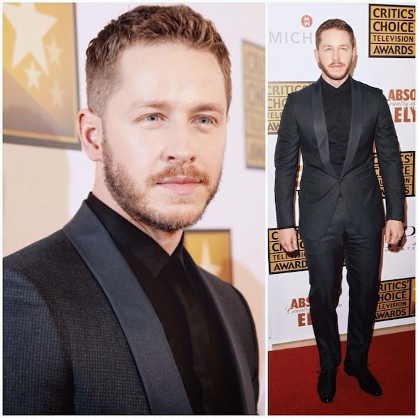 Josh Dallas Z ZEGNA suit tuxedo 4th Annual Critics Choice Television Awards