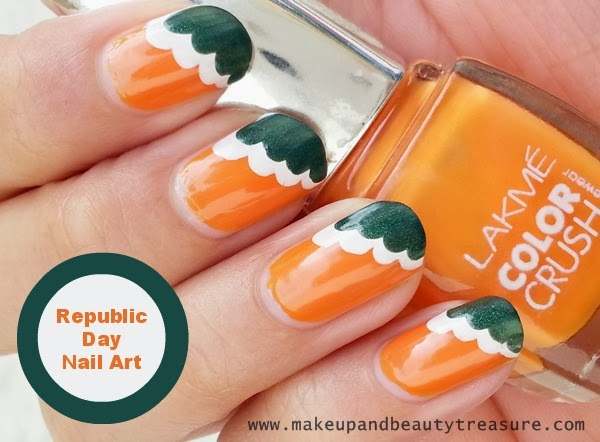 Republic Day Nails