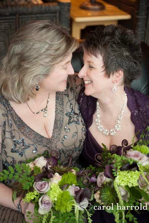 Northwest wedding flowers, same love, one love, gay wedding