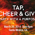 """Beer Tasting Alert: """"Tap, Cheer and Give"""" Hits Santa Monica, March 29th"""