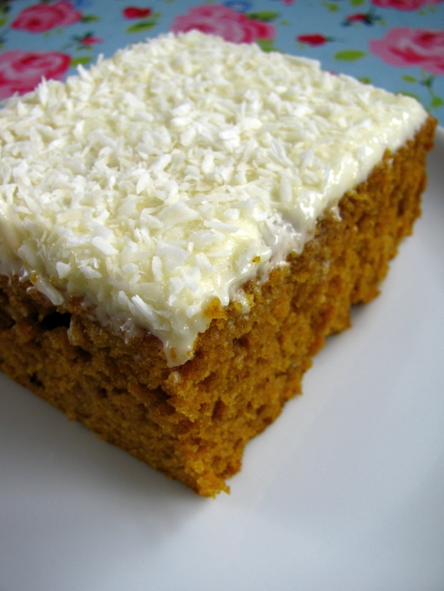pumpkin bars hummingbird bakery