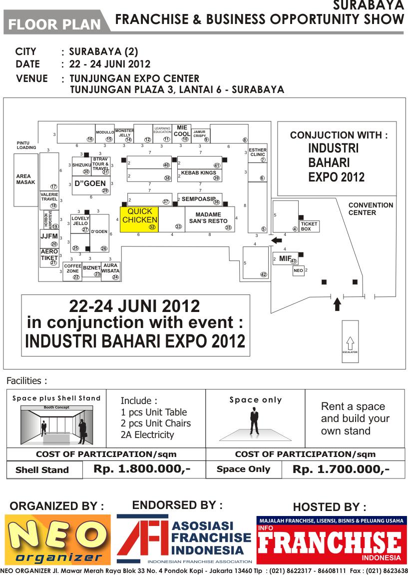 SURABAYA FRANCHISE & BUSINESS OPPORTUNITY SHOW 2012