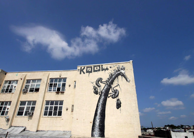 Street Art By Phlegm In Bushwick, Brooklyn. 7