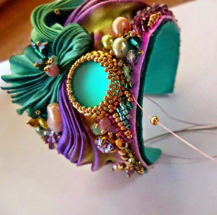 shibori bracelet