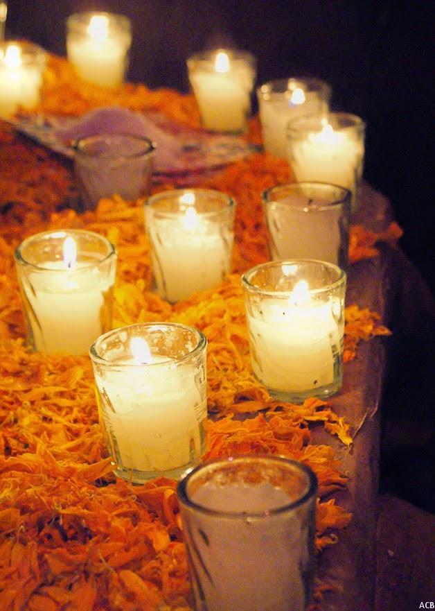 C  243 mo se hace un altar de d  237 a de muertos Velas Dia De Los Muertos