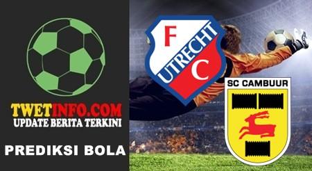 Prediksi Utrecht vs Cambuur, Eredivisie 26-09-2015