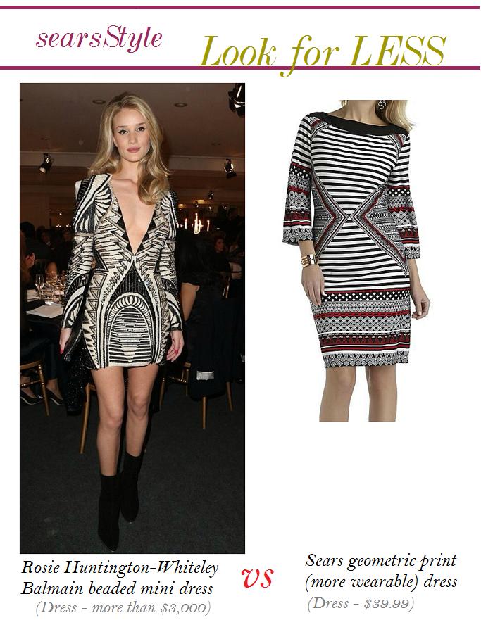 Rosie Huntington Whitley Blamain Dress, Rosie Huntington - Whitley Look For Less #ThisisStyle #Cbias #shop