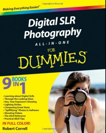 Aman studio digital slr photography all in one for for For dummies template book cover