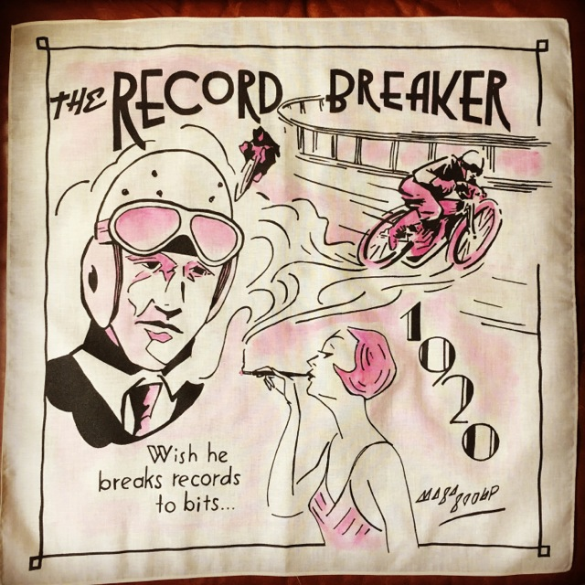 """THE RECORD BREAKER BANDANNA"""