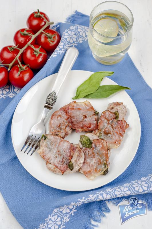 Saltimbocca z polędwiczek wieprzowych