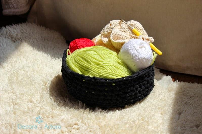 DIY cesta de trapillo