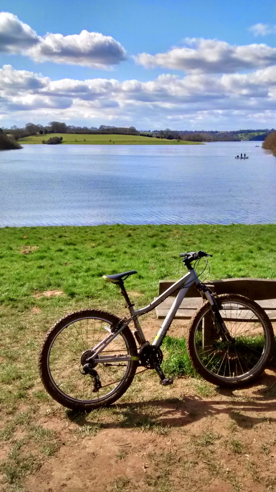 Mountain Biking at Bewl Water