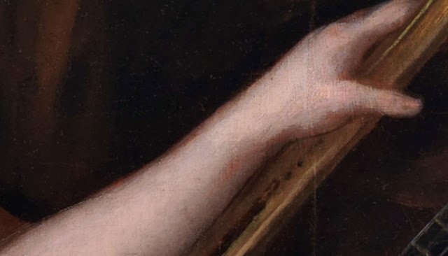 detalle del oleo de goya