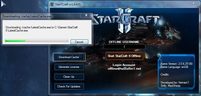 Starcraft 2 updating tools